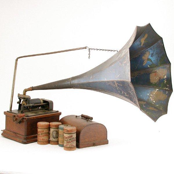 13: Edison Fireside Phonograph Model B