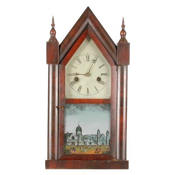 19: E.N. Welch Steeple Clock, Scene Of Crystal Palace