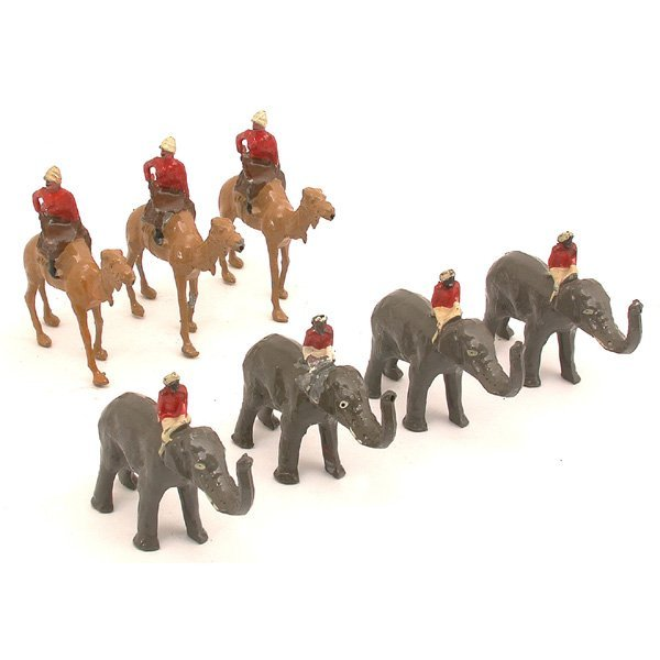 3: British Toy Soldiers, Camel Corp., Elephant Guard