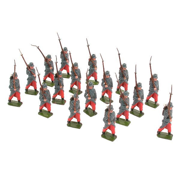 16: Britain's Set 141, French Infantry, 17