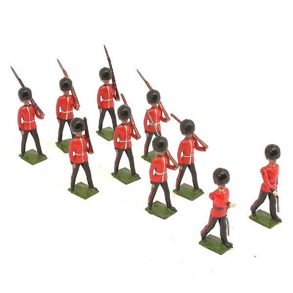 17: Britain's Set 1515, Coldstream Guards At March, 10