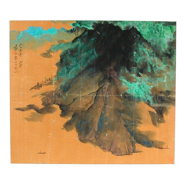512: Chinese Splash Landscape Painting Attributed to Zh