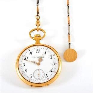 18k gold Patek Philippe pocket watch