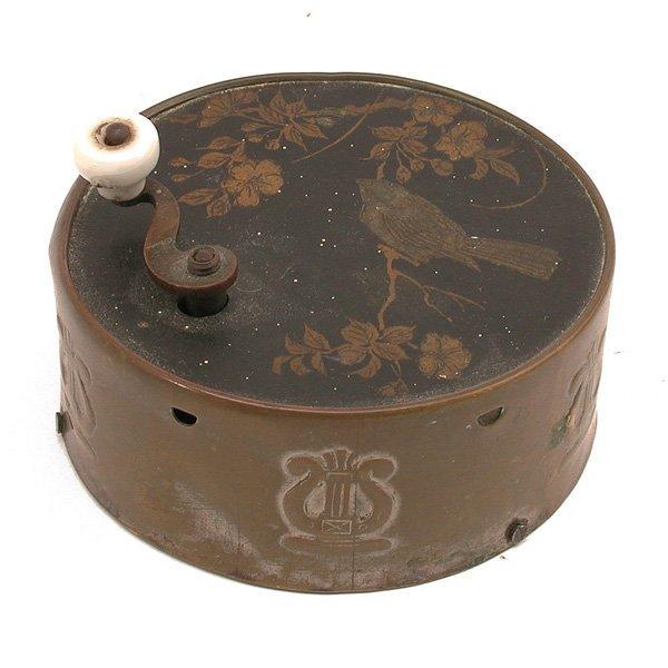 11: Victorian Hand Crank Music Box