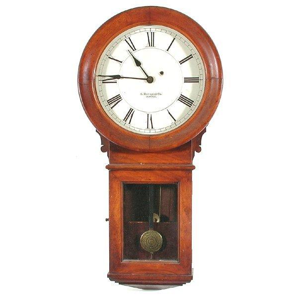 12: E. Howard & Co. Boston Wall Clock