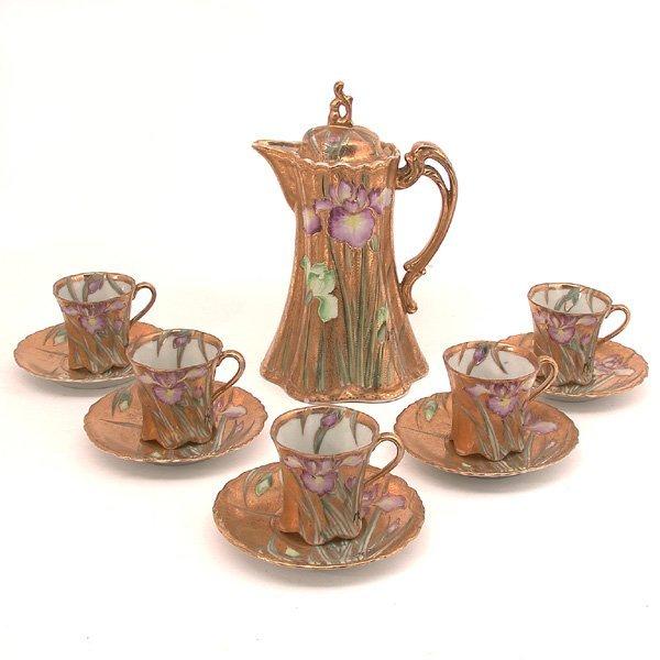 15: Japanese Porcelain Chocolate Set, Royal Nippon