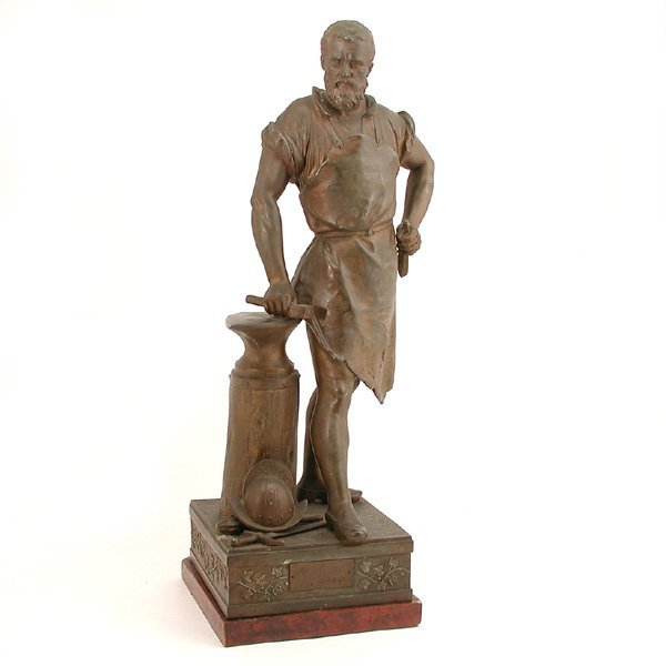 1: Spelter Figure, The Armurier