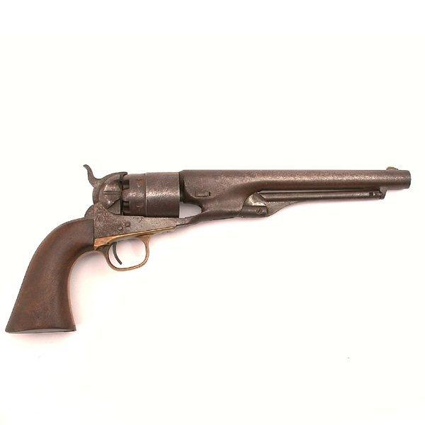 4: Colt Model 1860 Army .44 cal. revolver