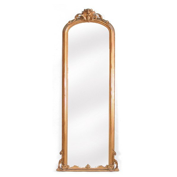10: Victorian Gold Gilt Pier Mirror