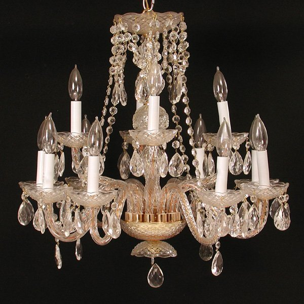 19: Crystal Chandelier