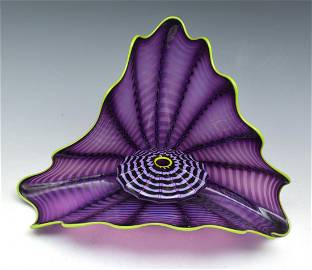 Dale Chihuly Imperial Iris Persian Glass Sculpture