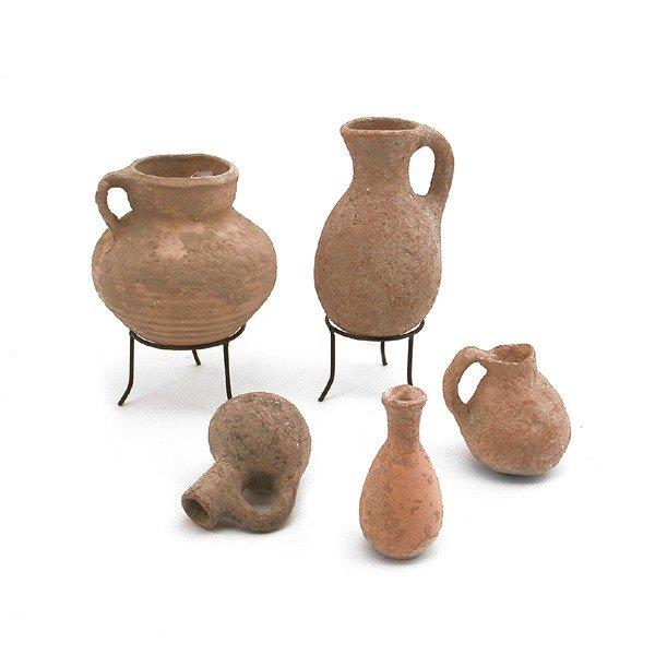 2: 5 Bronze/Iron Age, Herodian Vessels, 3150-500 BC