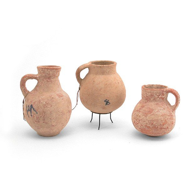 7: 3 Iron Age and Iron Age II Vessels, 1200-500 BC