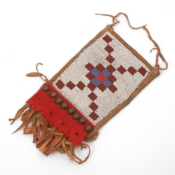 10: American Indian Beaded Purse
