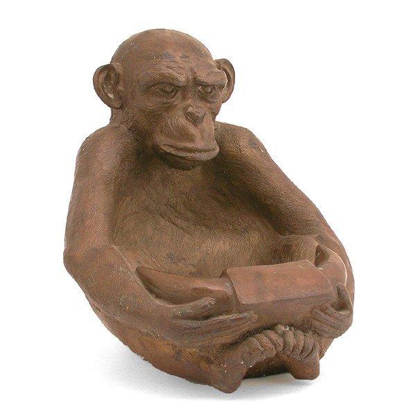 19: Bronze Monkey Bowl