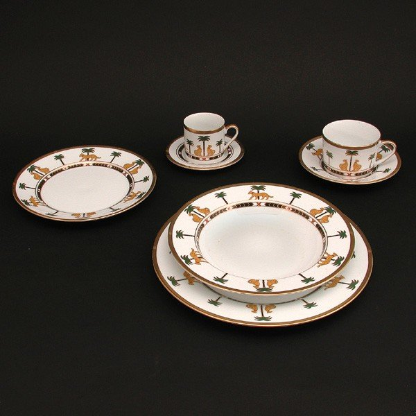 105: Christian Dior Casablanca Fine China Table Service