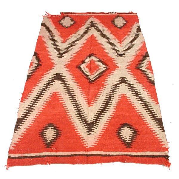 """11A: Navajo Rug, 4'8"""" x 8'7"""""""