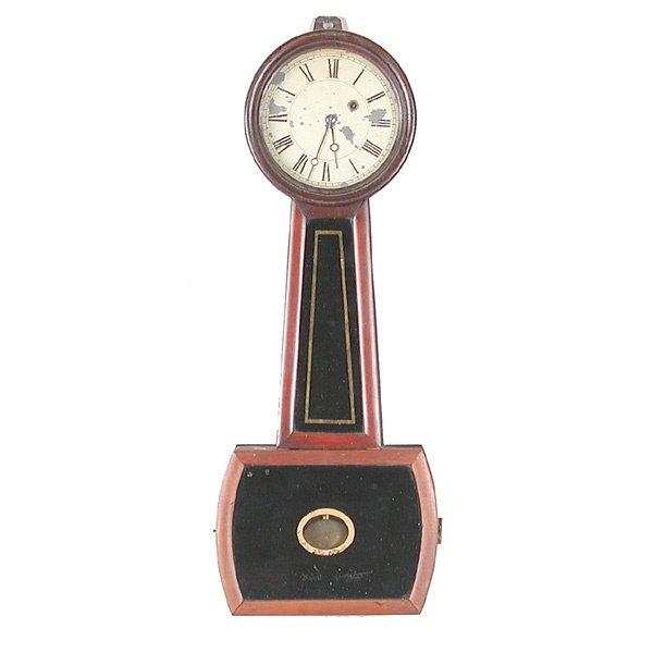 20: Howard Davis #5 Banjo Clock
