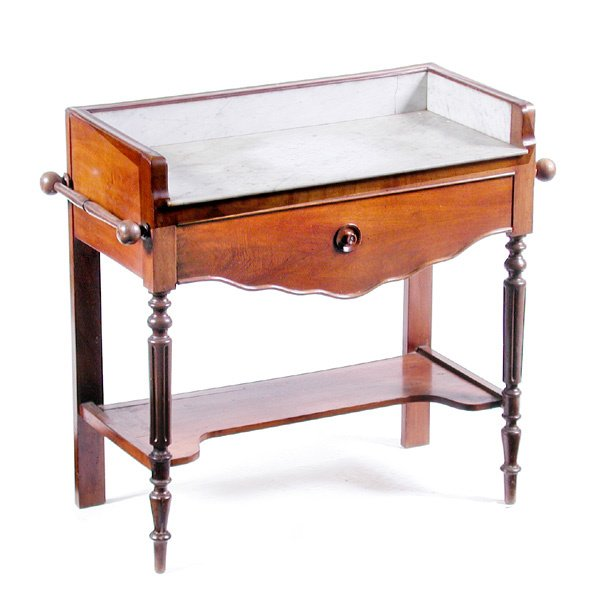 22: Marble Top Washstand