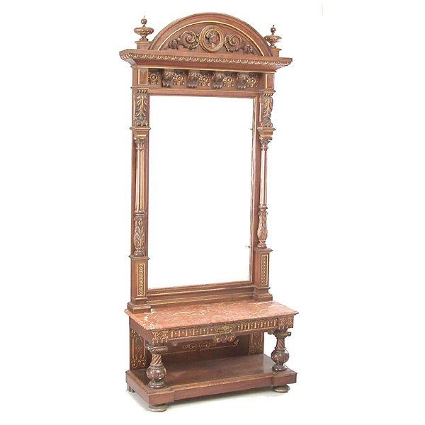 24: Monumental Victorian Pier Mirror