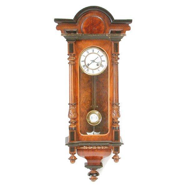 12: German Regulator Wall Clock