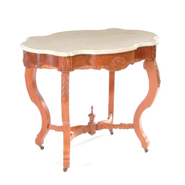 13: Victorian Turtle Top Table