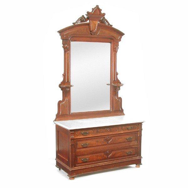 14: Victorian Mirrored Dresser