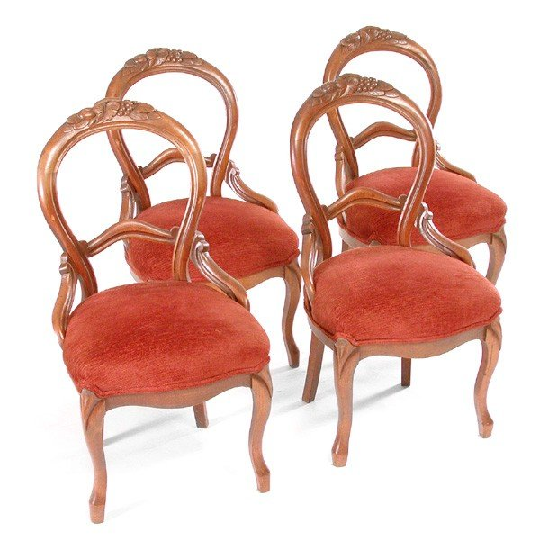 19: Victorian Dining Chairs, 19th C.
