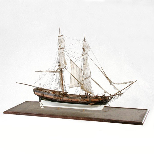21: Ship Model, 2 Masted