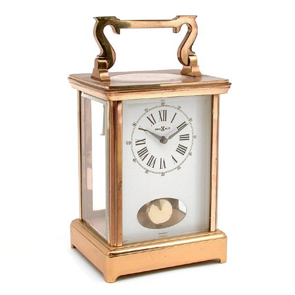 1: Howard Miller carriage clock