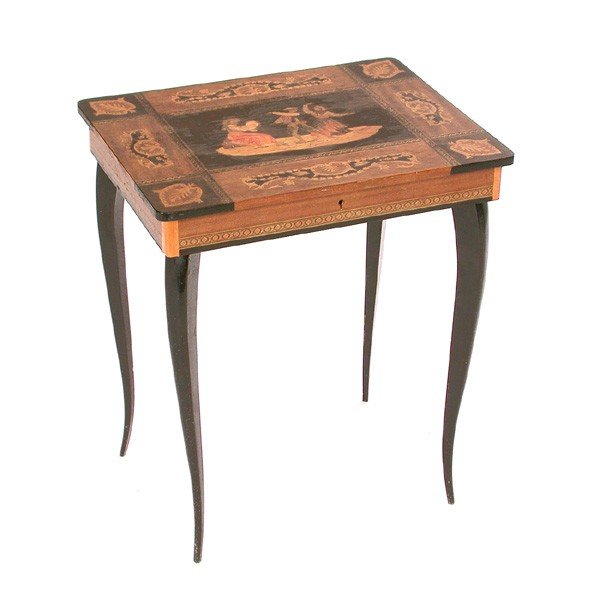 6: Inlaid Musical Table