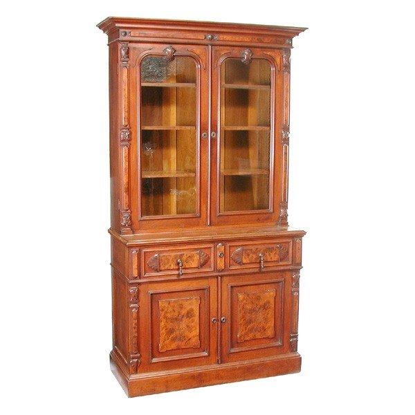 11: American Victorian Walnut Butler's Desk