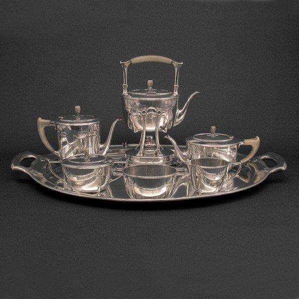 171: Tiffany & Co. Sterling Silver St. Dunstan Service