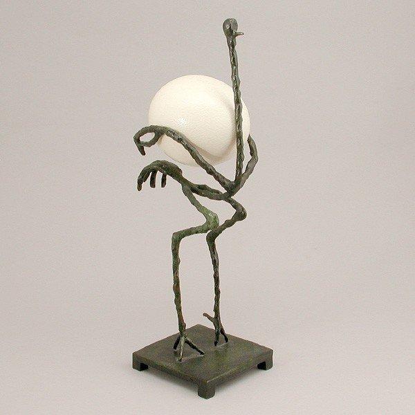 """602: Diego Giacometti, """"The Ostrich"""", """"L'Autruche"""""""