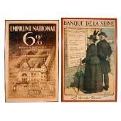 728: Lucien Jonas, Original French WWI War Bonds Poster