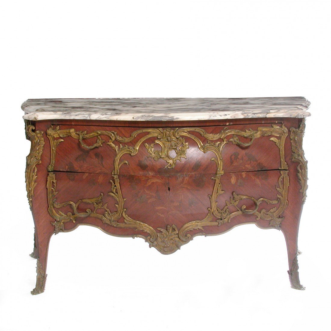 469: Louis XV Commode, Attrib Francois Linke, 19th c.