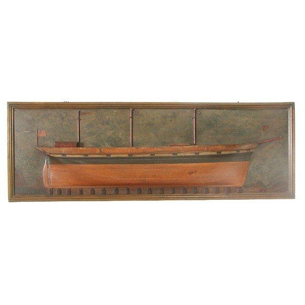 "7: Large 1/2 Model, William & Mary, 26"" x 64"""
