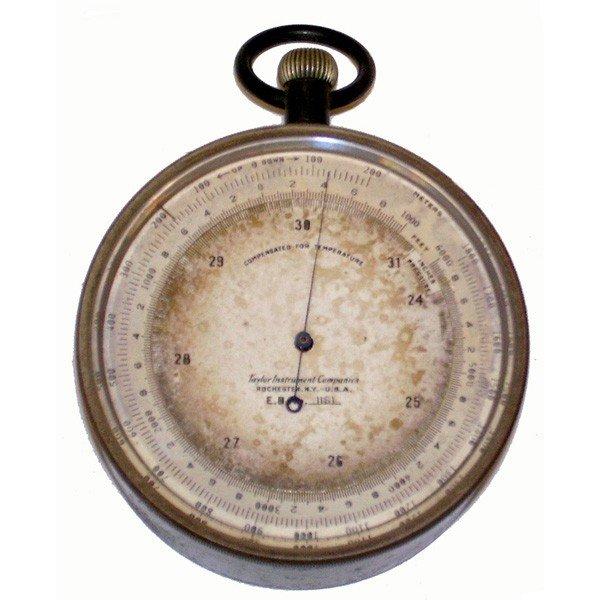 14: Early pocket barometer/altimeter