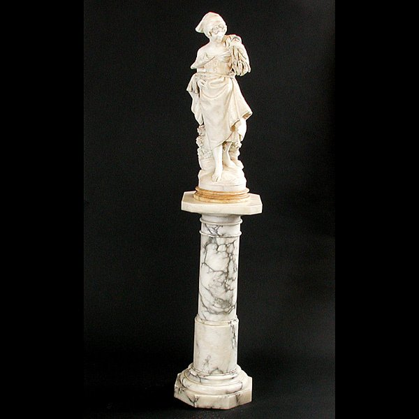 1: Italian Statue of a Maiden