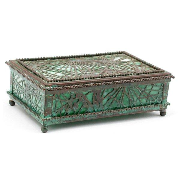 2: Tiffany Studios Pine Needle Box