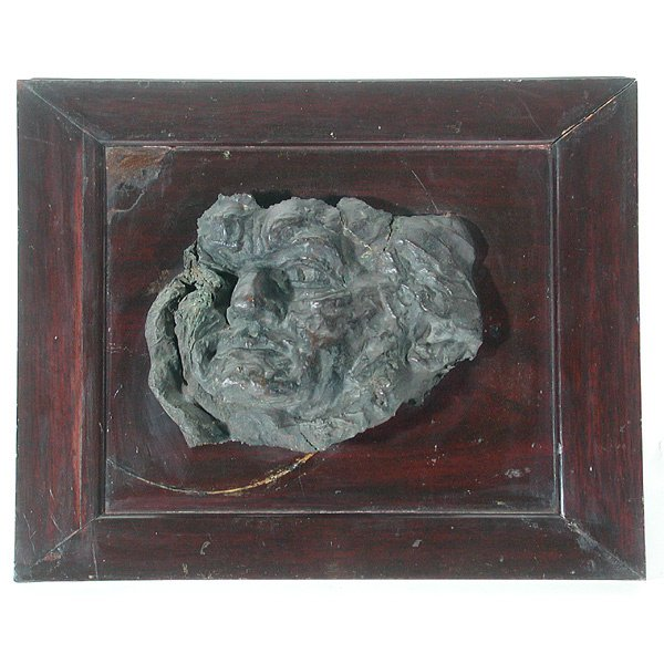 3: Bronze Bas Relief Portrait
