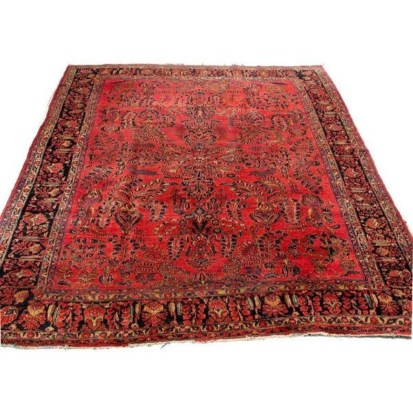 17: Semi Antique Sarouk Rug