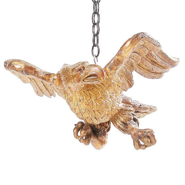 110: Carved Gilt Wood Eagle