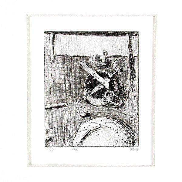 467: Richard Diebenkorn Etching and Drypoint