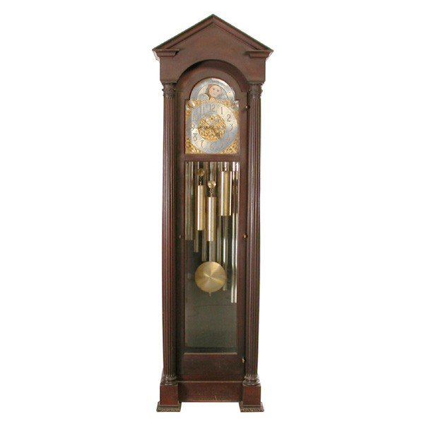 8: Herschede Tall Clock in the Gothic Style