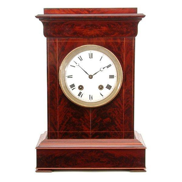 2: Mahogany Mantel Clock