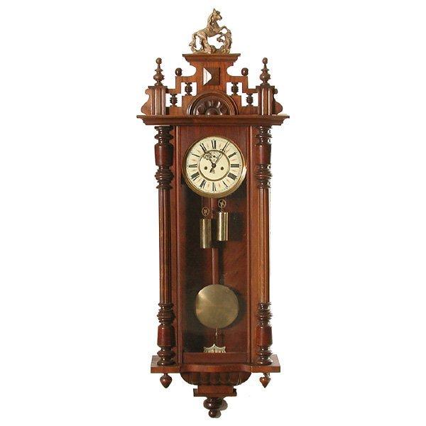 14: Gustav Becker Two-Weight Regulator Wall Clock