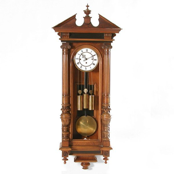 24: Vienna Regulator Wall Clock, 3 Weight