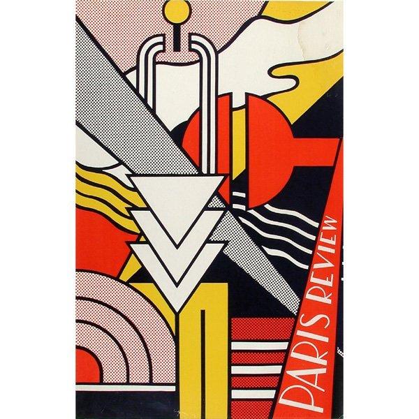 "269: Roy Lichtenstein Silkscreen, ""Paris Review"""