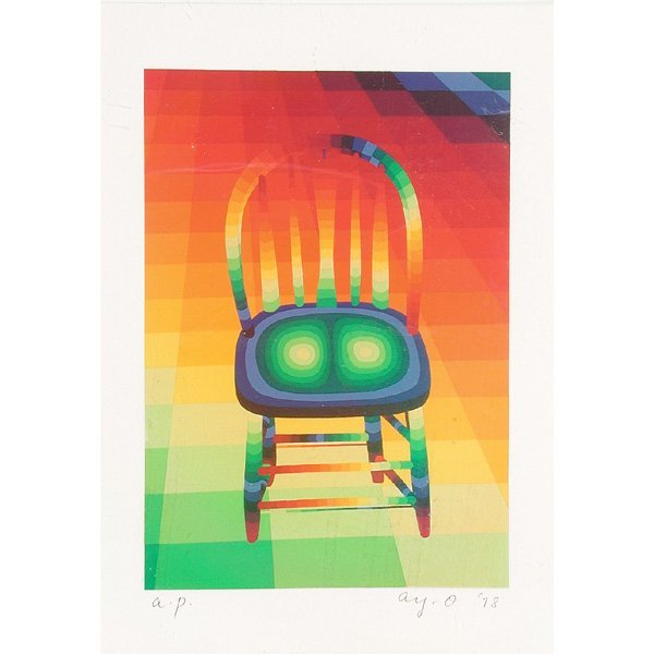 275: Ay-O Serigraph, Chair